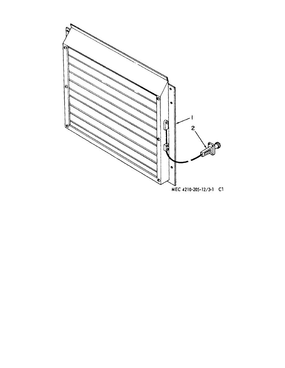 figure 71  21  radiator shutter assembly
