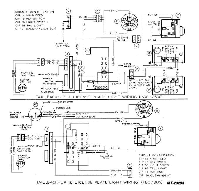 Wiring Diagram  29 License Plate Light Wiring Diagram