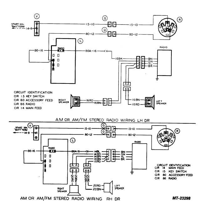 Am Or Am  Fm Stereo Radio Wiring Rh Dr