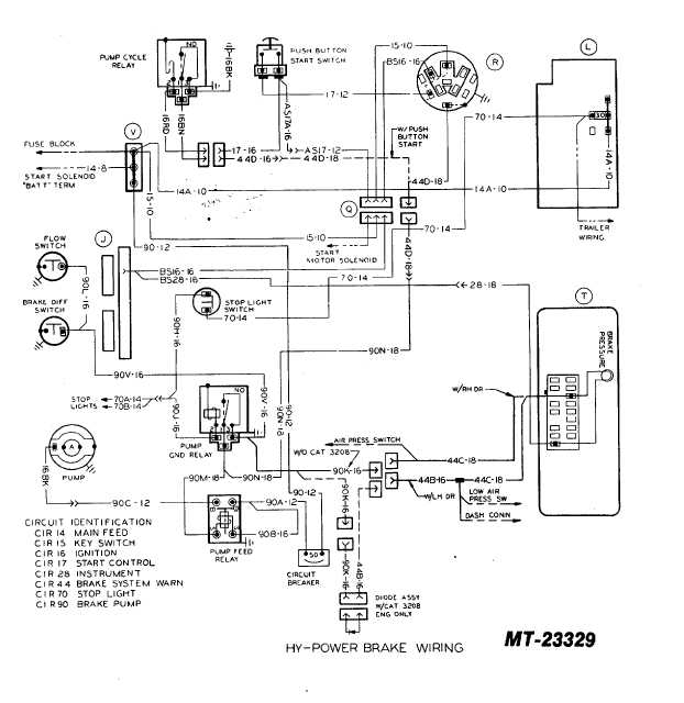 power brake wiring diagram hy-power brake wiring - tm-5-4210-230-14p-1_154 #3
