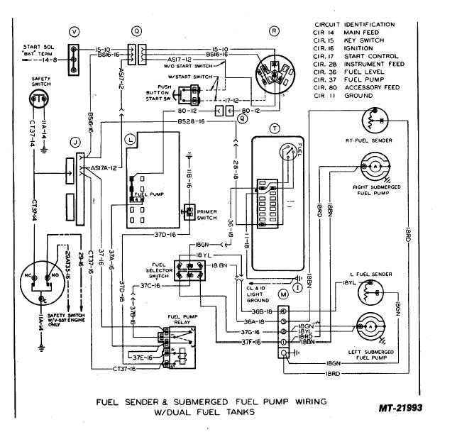 fuel sender and submegerd fuel pump wiring w dual fuel tanks tm 5 4210 230 14 p 1 circuit diagrams 65