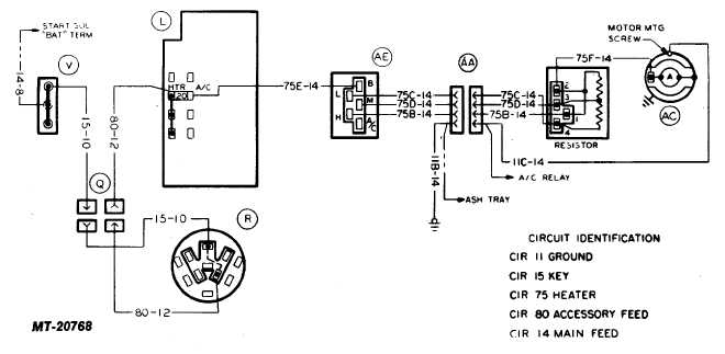 TM 5 4210 230 14P 1_277_2 auto ac wiring diagram auto ac system schematic \u2022 wiring diagrams goodman a30-15 wiring diagram at soozxer.org