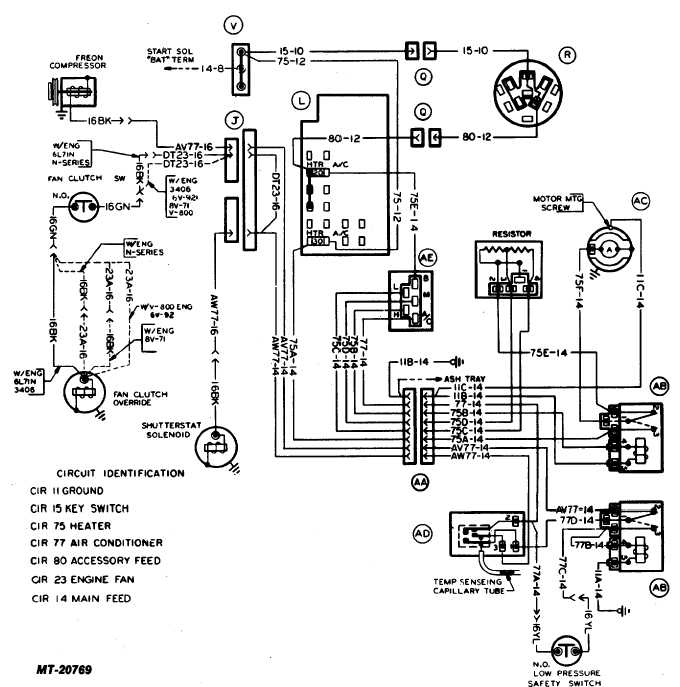 fig  17 heater and air conditioner wiring diagram