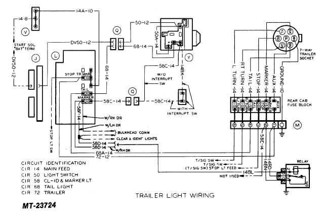 trailer light wiring