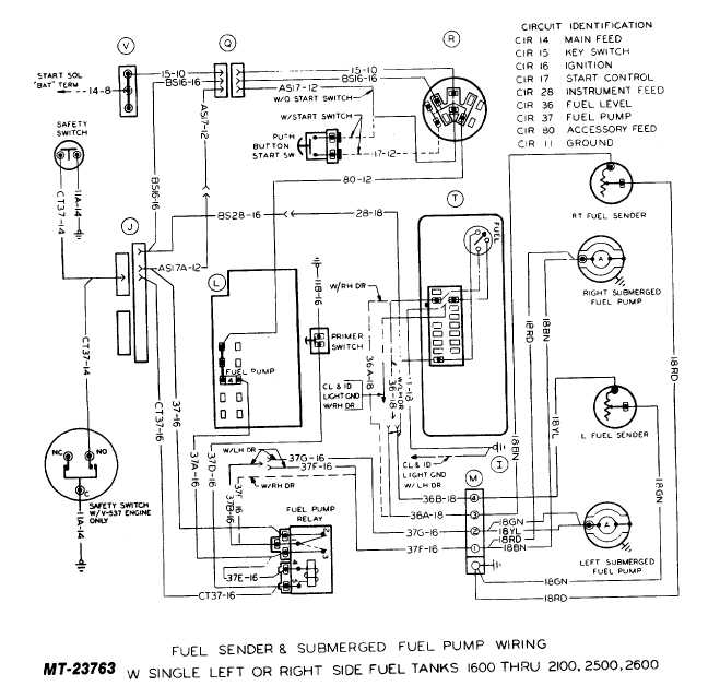 clark fork lift in tank fuel pump wiring pictures to pin