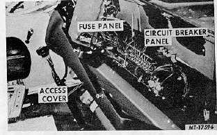 10 fuse panel and circuit breaker panel locations co-4070b transtar ii  vehicles (access cover removed for illustration) 4200, 4300 transtar  conventional