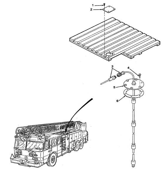 water tank level sending unit