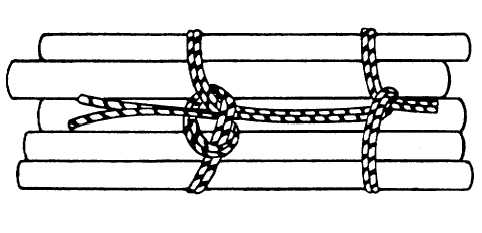 TM 9 254_189_1 figure 6 5 finishing square knot wire harness lacing knots at n-0.co